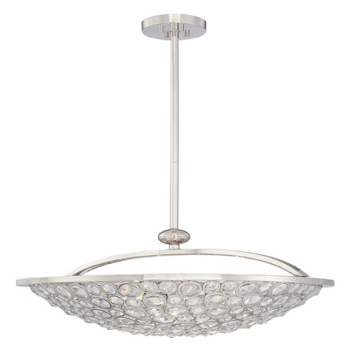 Magique 5 Light Bowl Inverted Pendant
