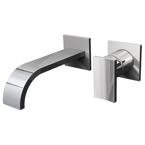 Sade Single Handle Wall Mount Bathroom Faucet