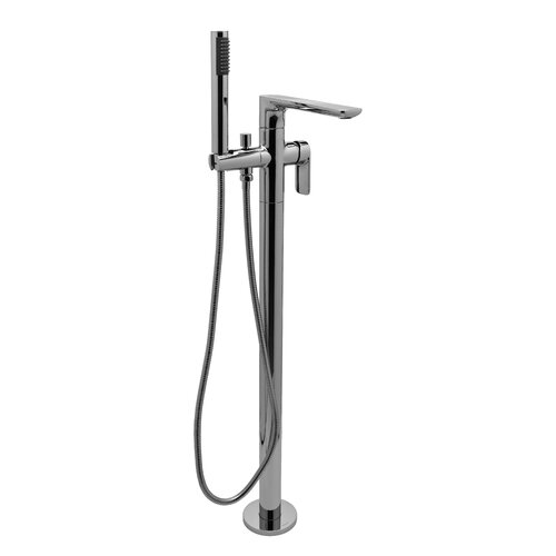 Graff Sento Single Handle Floor Mount Tub Filler Trim