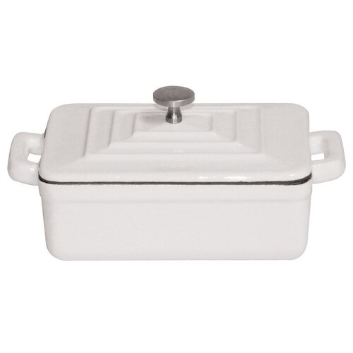 Tabletop Cookware 0.01-qt. Cast Iron Rectangular Casserole