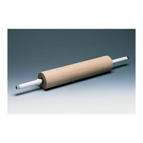 Wooden Rolling Pin Handles with Gear