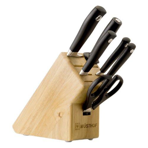 Wusthof Grand Prix II 7 Piece Knife Block Set