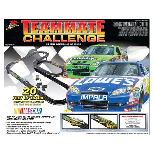 Life-Like Nascar Teammate Challenge Car Set