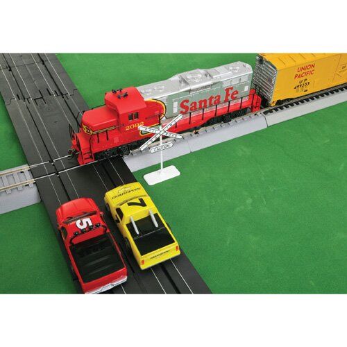 Life-Like Racing® Race Set and Train Set Intersection Track