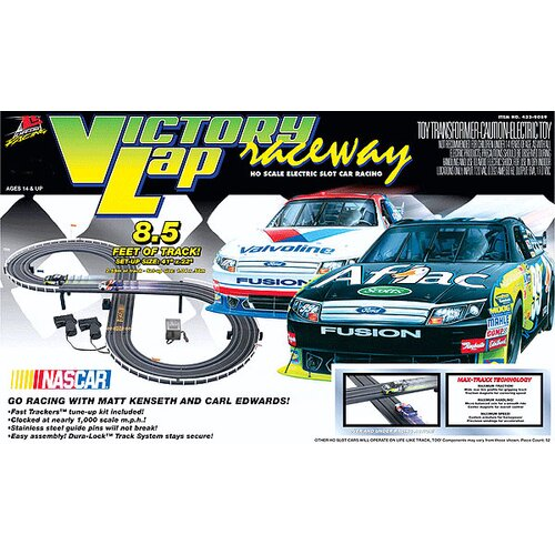 Life-Like Nascar Victory Lap Raceway Car Set