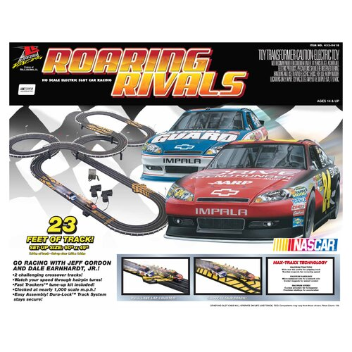 Nascar Roaring Rivals Tracks and Playset