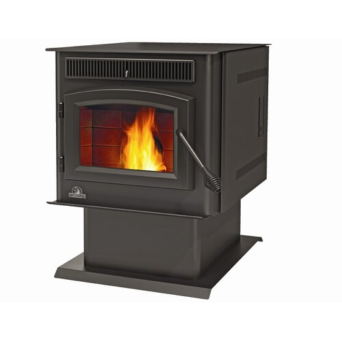 Timberwolf TPS35 Economizer™ Rear Vent 2,000 Square Foot Pellet Stove