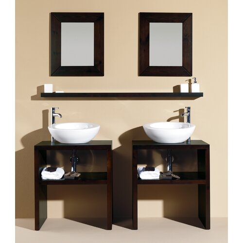 "Bissonnet Nava 19.7"" Panticosa Wall Shelf"