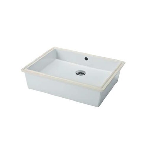Slim Sinks Bathroom : Bissonnet Traffic Slim Undermount Bathroom Sink