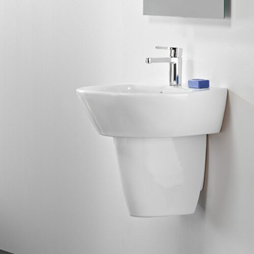 Semi-Pedestal for Jazz Porcelain Bathroom Sink