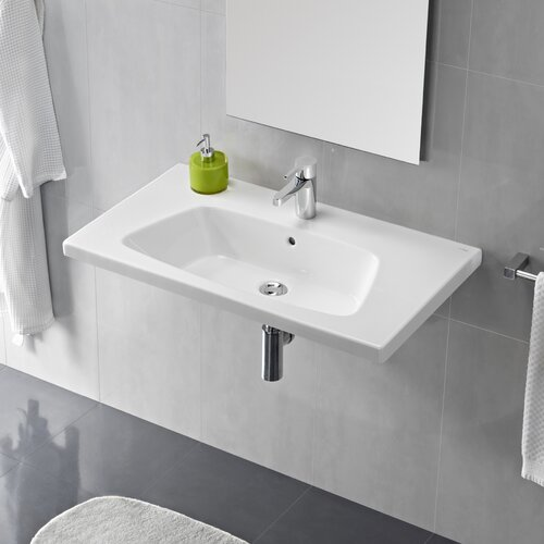 Bissonnet Veo Porcelain Bathroom Sink with Overflow & Reviews ...