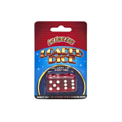 Las Vegas Style Loaded Dice Card