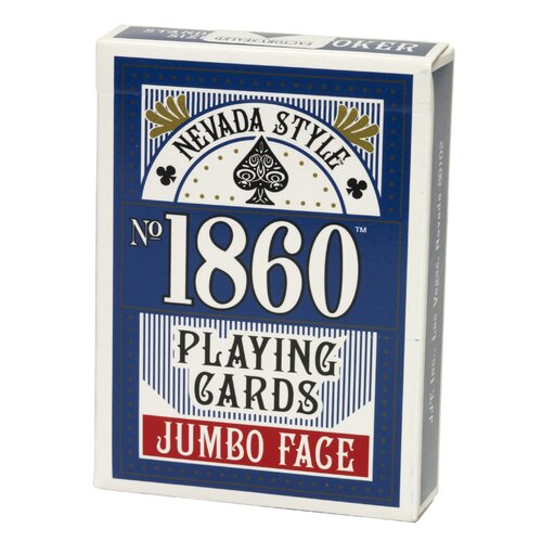 Nevada Style Jumbo Face Playing Card Deck