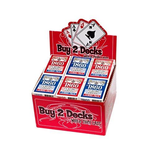 Nevada Style Jumbo Face Playing Card