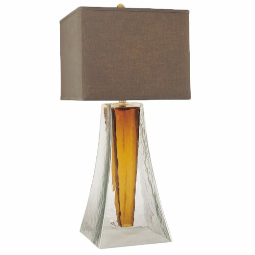 "Minka Ambience 33.5"" H 1 Light Square Table Lamp"