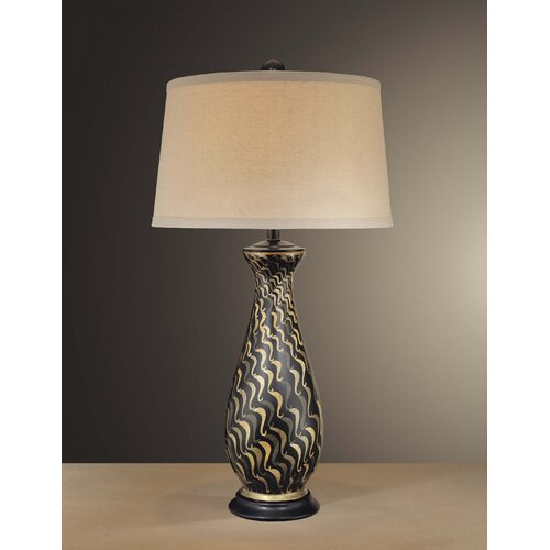 "Minka Ambience 34"" H  Textured Table Lamp"