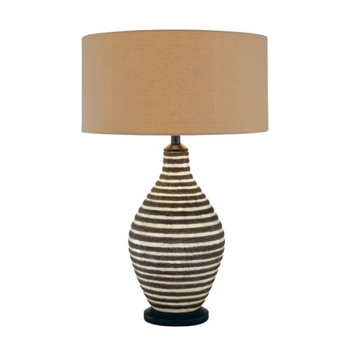 "Minka Ambience 29"" H Table Lamp with Drum Shade"