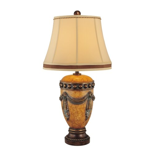"Minka Ambience 33.75"" H 1 Light Traditional Table Lamp"