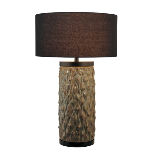 "Minka Ambience 30.5"" H 1 Light Table Lamp with Drum Shade"