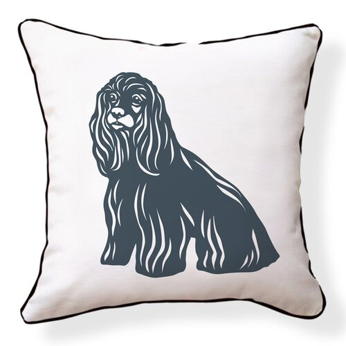Naked Decor Cocker Spaniel Double Sided Cotton Pillow