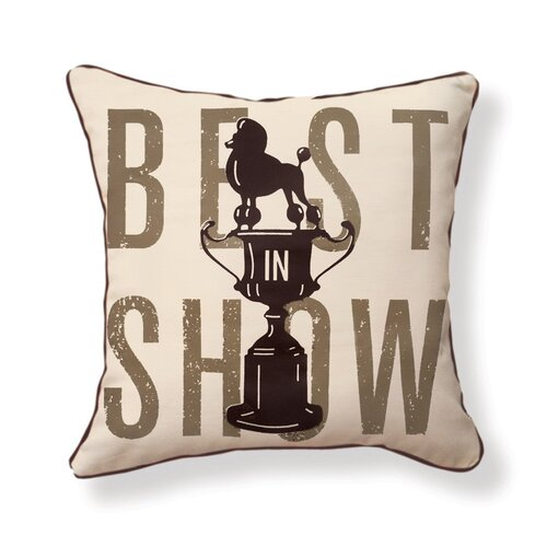 Naked Decor Best in Show Pillow
