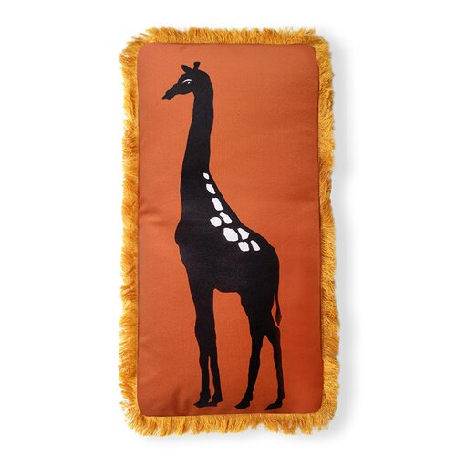 Naked Decor Beyond Africa Giraffe Pillow
