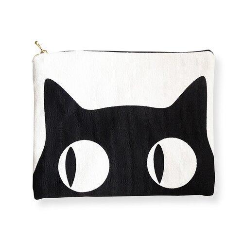 Naked Decor Big Eyes Cat  Amenity Bag