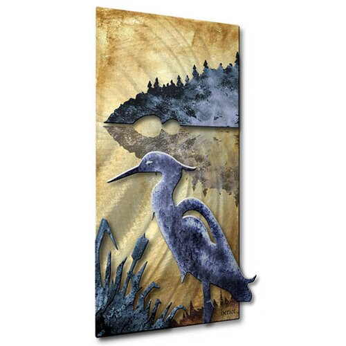 All My Walls Blue Heron Wall Décor
