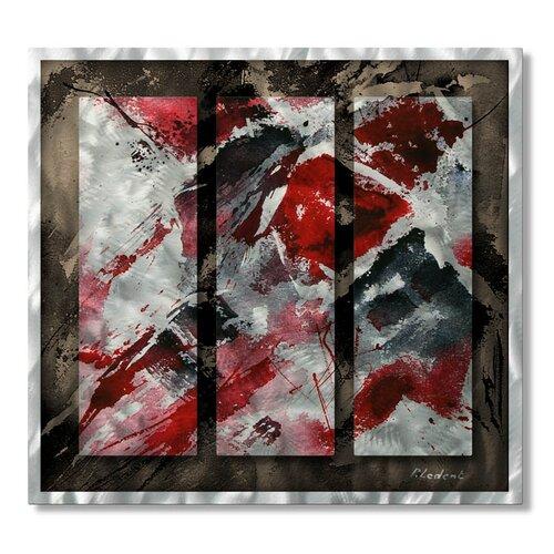 'Swank' by Pol Ledent Original Painting on Metal Plaque