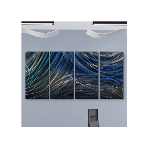 All My Walls Connecting Rings III Metal Wall Art
