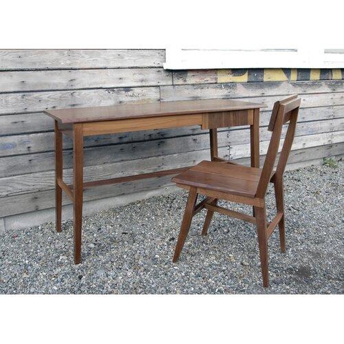 Semigood Design Rift Writing Desk with Chair