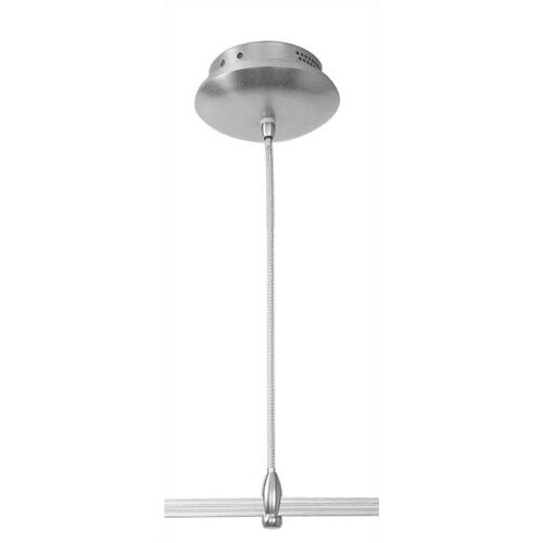 LBL Lighting Monorail Surface Mounted Electronic Transformer in Satin Nickel