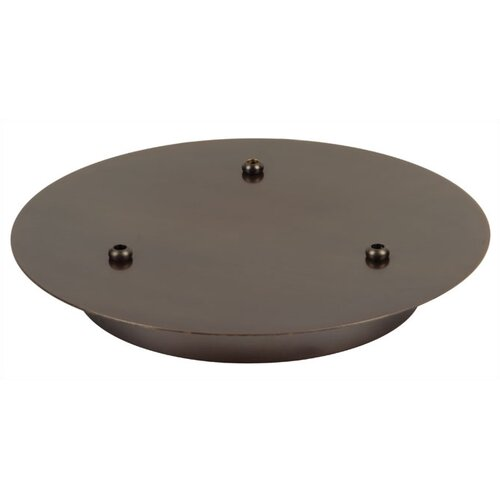 Three Port Round Canopy in Bronze
