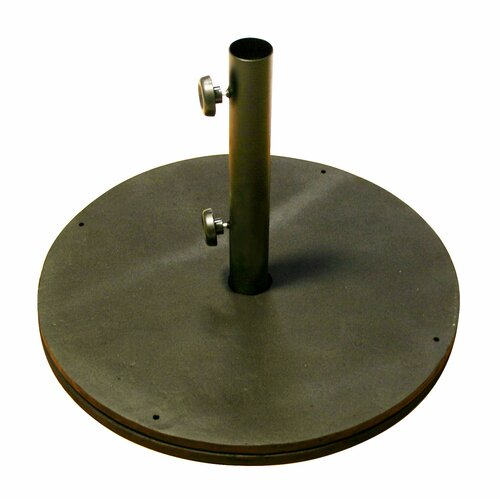 Black Cast Iron Round Umbrella Base