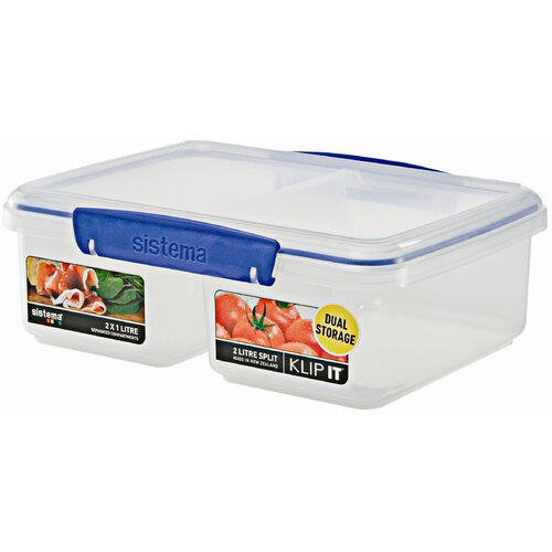 65-Oz. Klip It Split Food Container