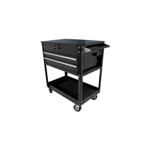 "Sunex 37.5"" Wide 2 Drawer Service Cart"