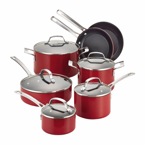 Genesis 12-Piece Aluminum Cookware Set