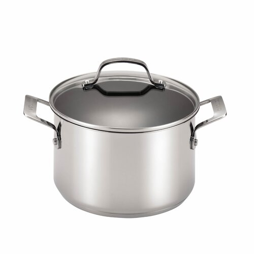 Genesis 5-qt. Stainless Steel Round Dutch Oven
