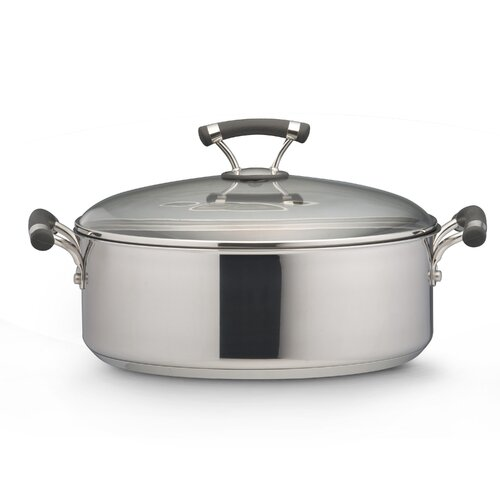 Circulon Contempo 7.5-qt. Stock Pot with Lid