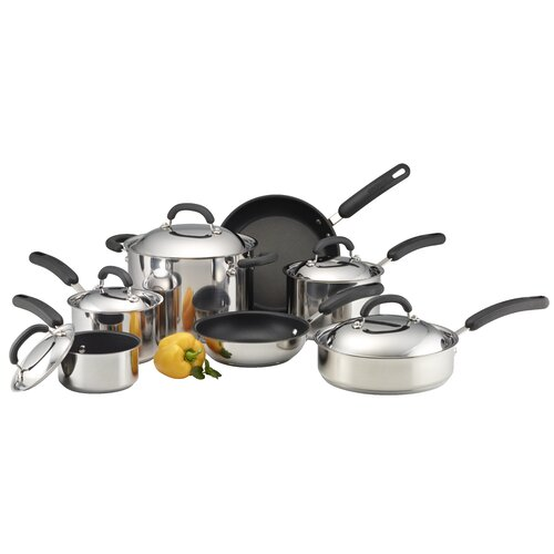 Nonstick 12-Piece Cookware Set