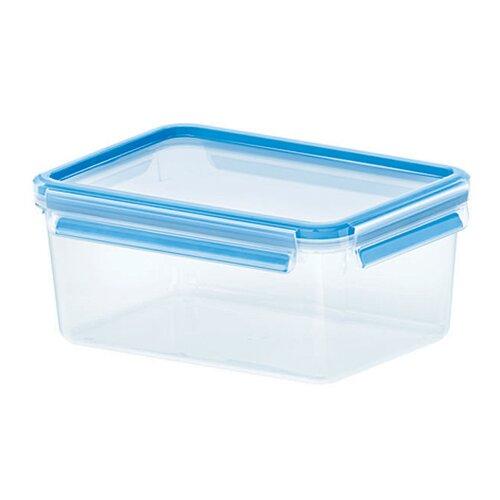 Emsa 3D Food Storage Deep Rectangular 78 fl oz Clip and Close Container