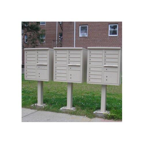 Florence Mailboxes 1570 Cluster Box Unit (12 Box Unit)