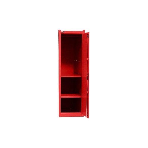 Interdynamics Side Locker W/ 2 Shelves- Red