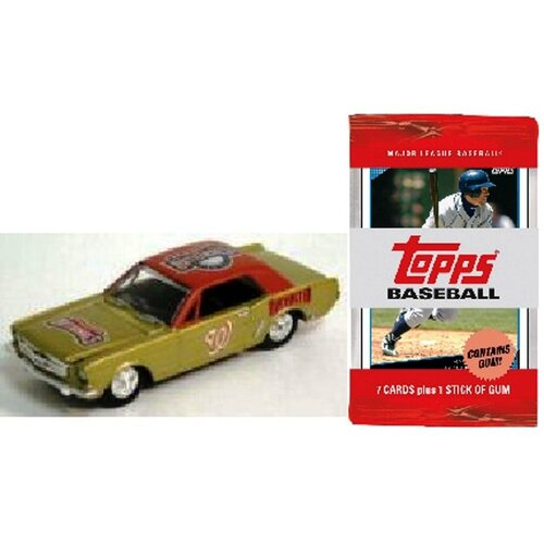 ERTL MLB 1964 Ford Mustang Racing