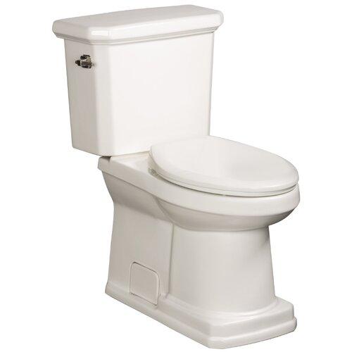 Cirtangular High Efficiency 1.28 GPF Elongated 2 Piece Toilet