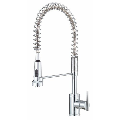 Danze® Parma Single Handle Single Hole Pre-Rinse Kitchen Faucet
