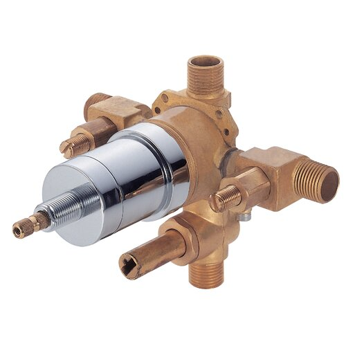 Danze® Pressure Balance Mixing Valve with Diverter and Stops