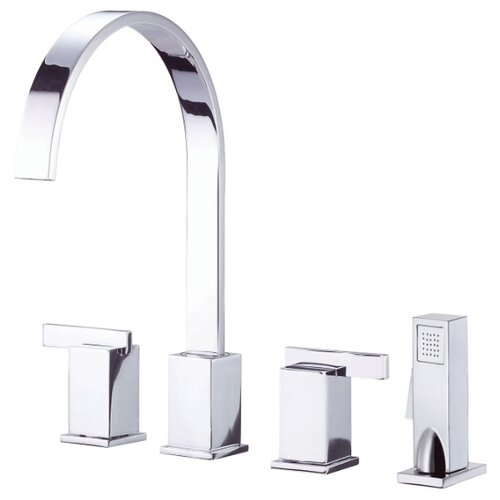 Danze® Sirius Two Handle Widespread Kitchen Faucet