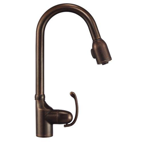 Danze® Anu Single Handle Pull-Down Kitchen Faucet