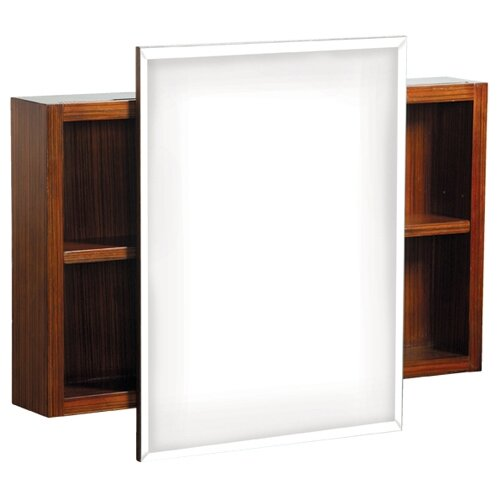 "Danze® Ziga Zaga 30"" x 18"" Surface Mount Beveled Edge Medicine Cabinet"